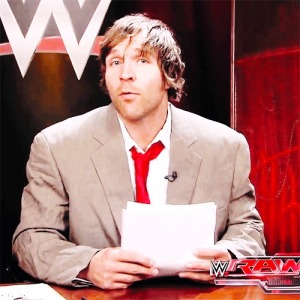 Dean Ambrose newsreade