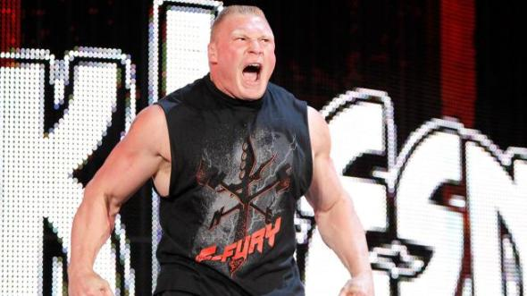 Lesnar mad