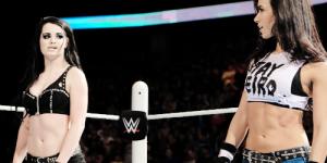 Paige AJ stare out