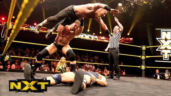 Enzo Amore & Big Cass Angelo Dawkins & Sawyer Fulton