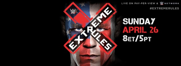 Extreme Rules poster sucks