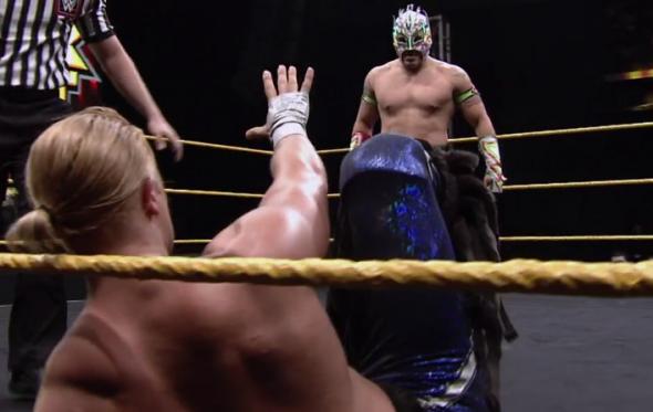 NXT Kalisto Tyler Breeze