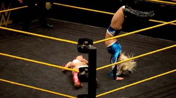 NXT Sasha Banks Alexa Bliss
