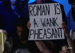 Reigns sign