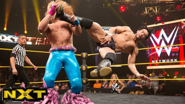 tyler breeze hideo itami