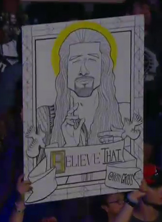 Roman Reigns sign
