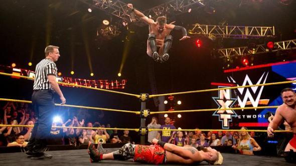 Finn Balor Samoa Joe Enzo Amore Big Cass