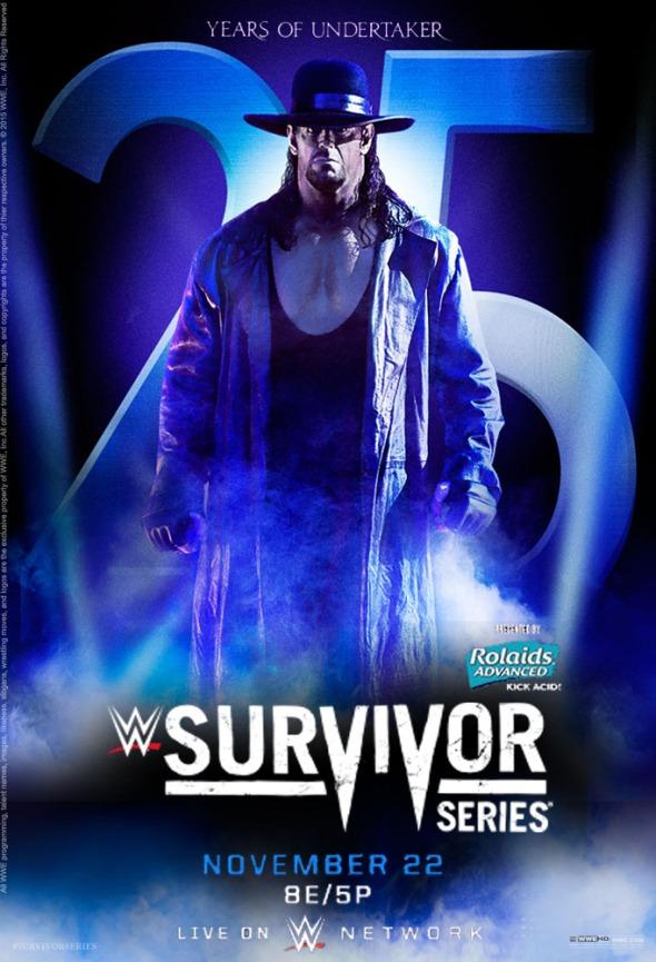Survivor Series 2015 poster