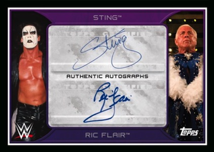 2016-Topps-WWE-Road-to-Wrestlemania-Dual-Autograph-Ric-Flair-Sting