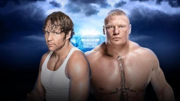 Ambrose Lesnar Wrestlemania 32