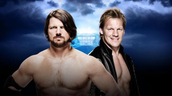 Chris Jericho AJ Styles Wrestlemania 32