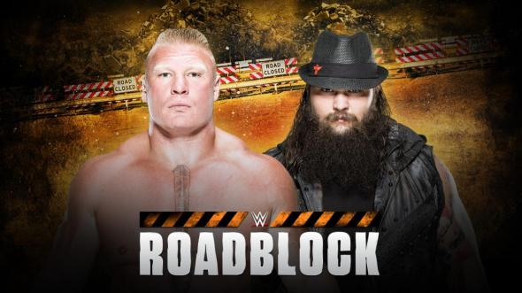 Wyatt Lesnar Roadblock