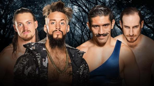 Enzo Amore Big Cass Vaudevillains Payback