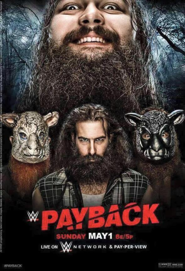 Payback 2016 poster