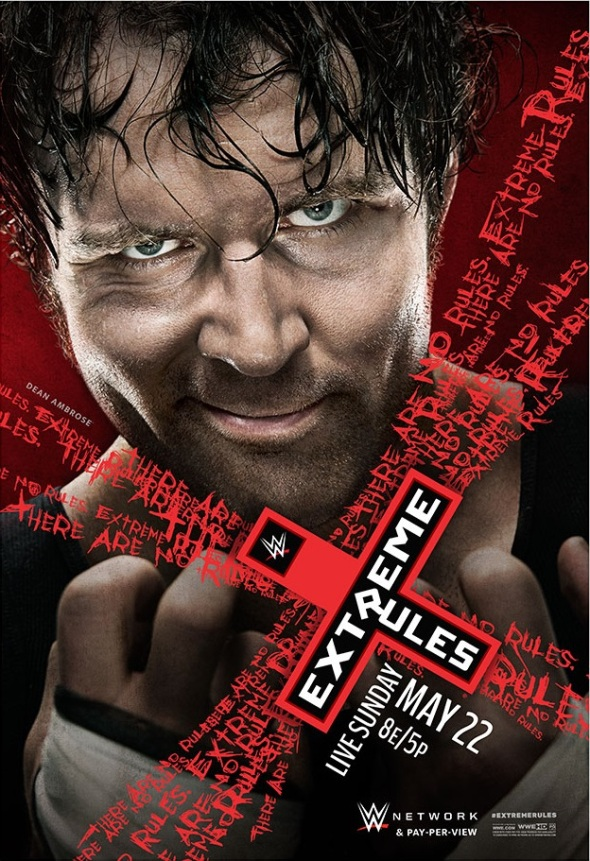 Extreme Rules 2016 poster