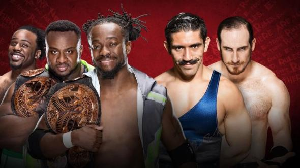 Tag match Extreme Rules 2016